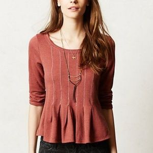 🚘MOVING🚘 ANTHROPOLOGIE Saturday Sunday Top M